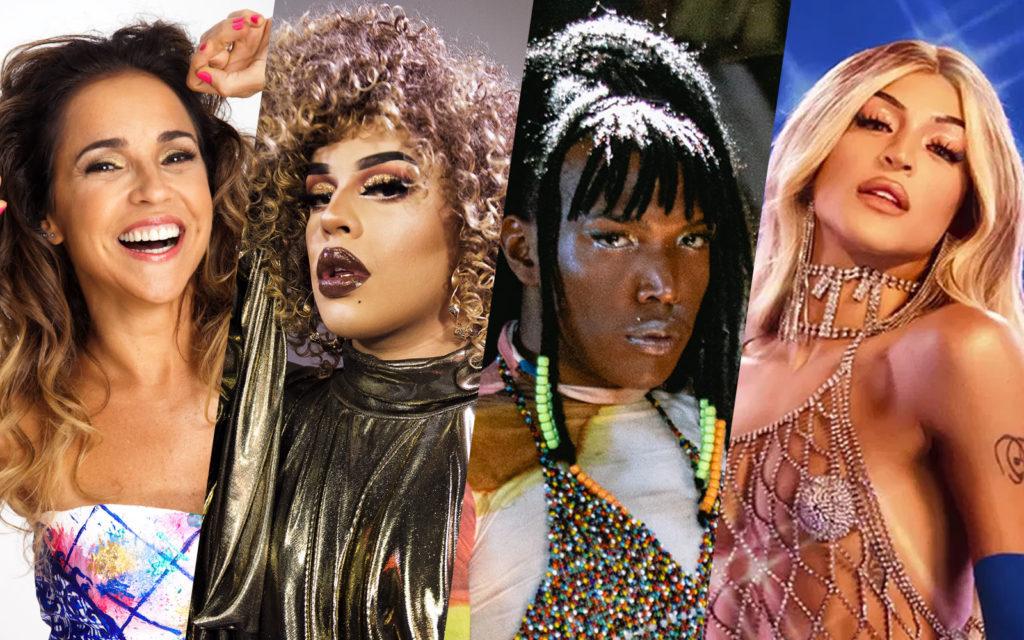 Daniela Mercury, Gloria Groove, Majur ou Pabllo Vittar: Vote nos Melhores do Ano 2019 do Gay1.