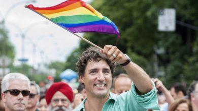 Justin Trudeau na Parada do Orgulho LGBT de Toronto. (Foto: Getty Images)