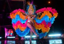 Maria Eduarda Venturine, vencedora do Beauty Queen do concurso Pop Gay 2013. (Foto: Arquivo/Petra Mafalda/Divulgação)