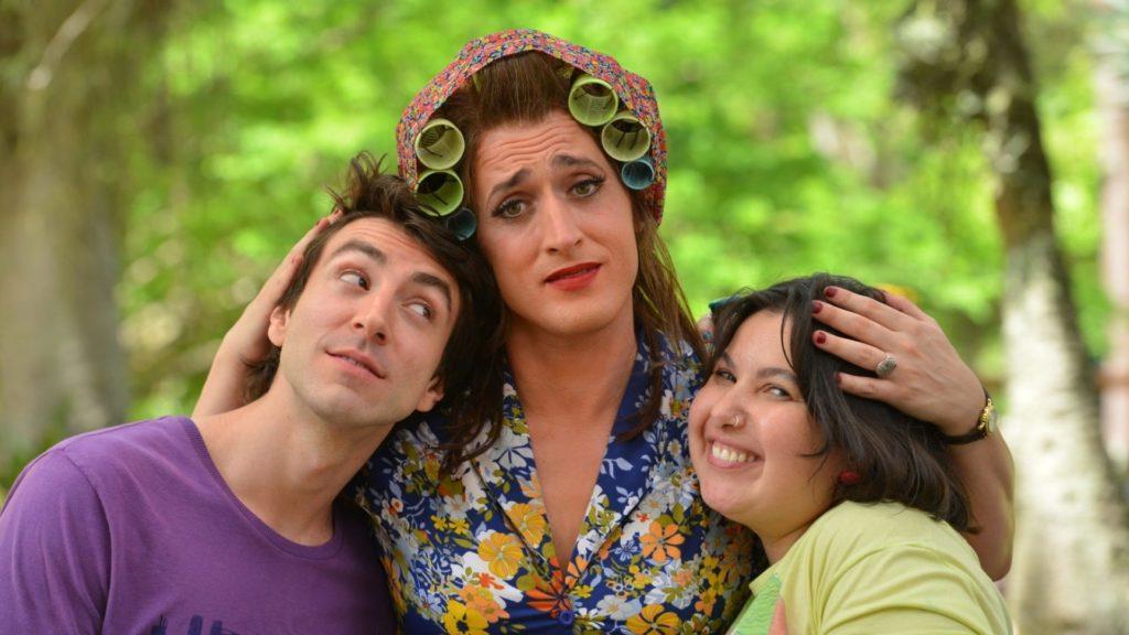 Paulo Gustavo, Mariana Xavier e Rodrigo Pandolfo em 'Minha mãe é uma peça 3'. (Foto: Divulgação)
