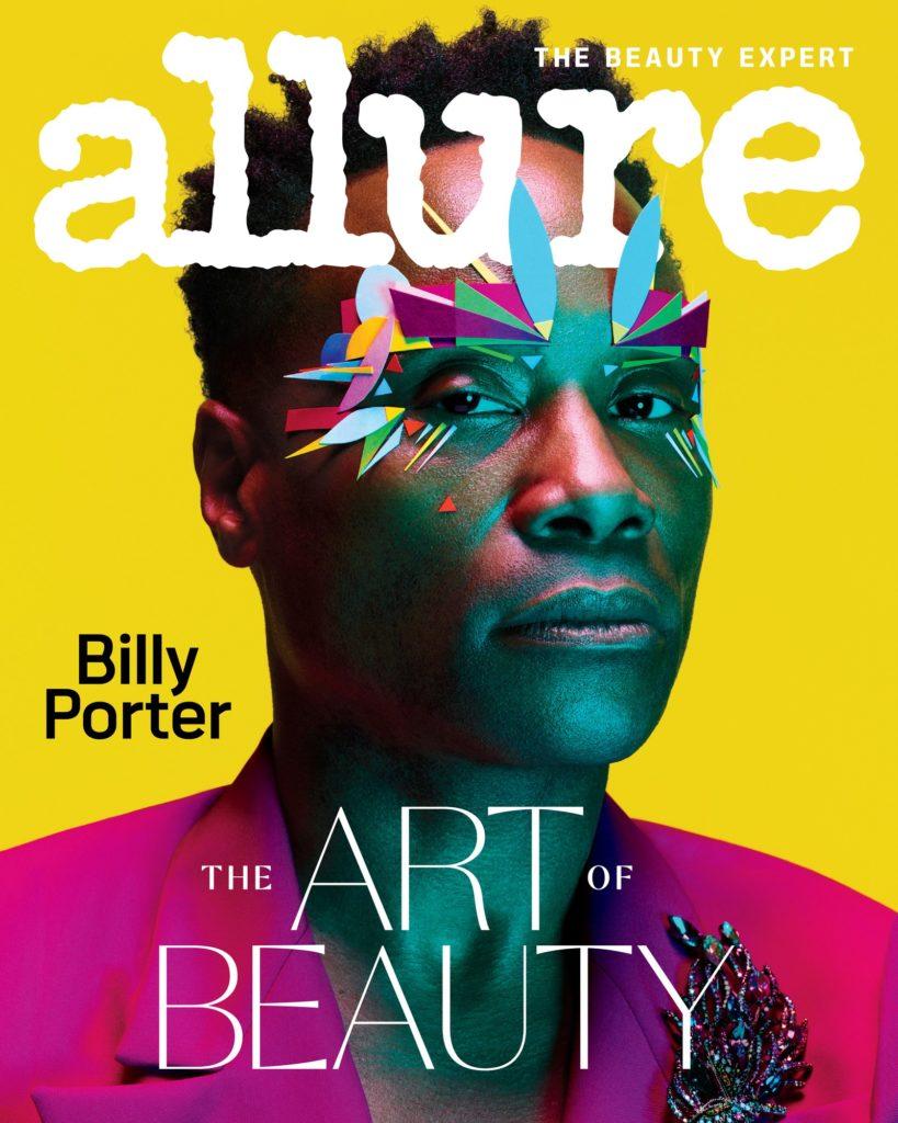 Billy Porter é o primeiro homem a estrelar a capa da Allure. (Foto: Divulgação)