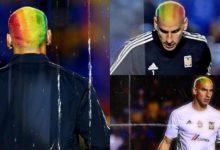 Nahuel Guzmán exibe visual contra a homofobia no esporte. (Foto: Reprodução/Twitter)