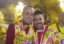 Marcus Ferreira e Tarcísio Zanon comemoraram primeiro título juntos no Grupo Especial. (Foto: Reprodução)