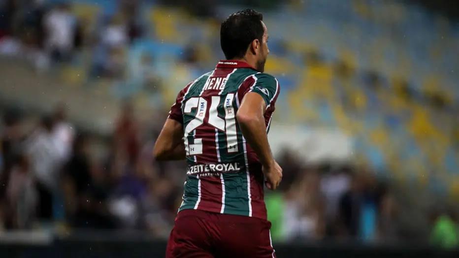 Nenê vai usar a camisa 24 na Sul-Americana. (Foto: Lucas Merçon/Fluminense)