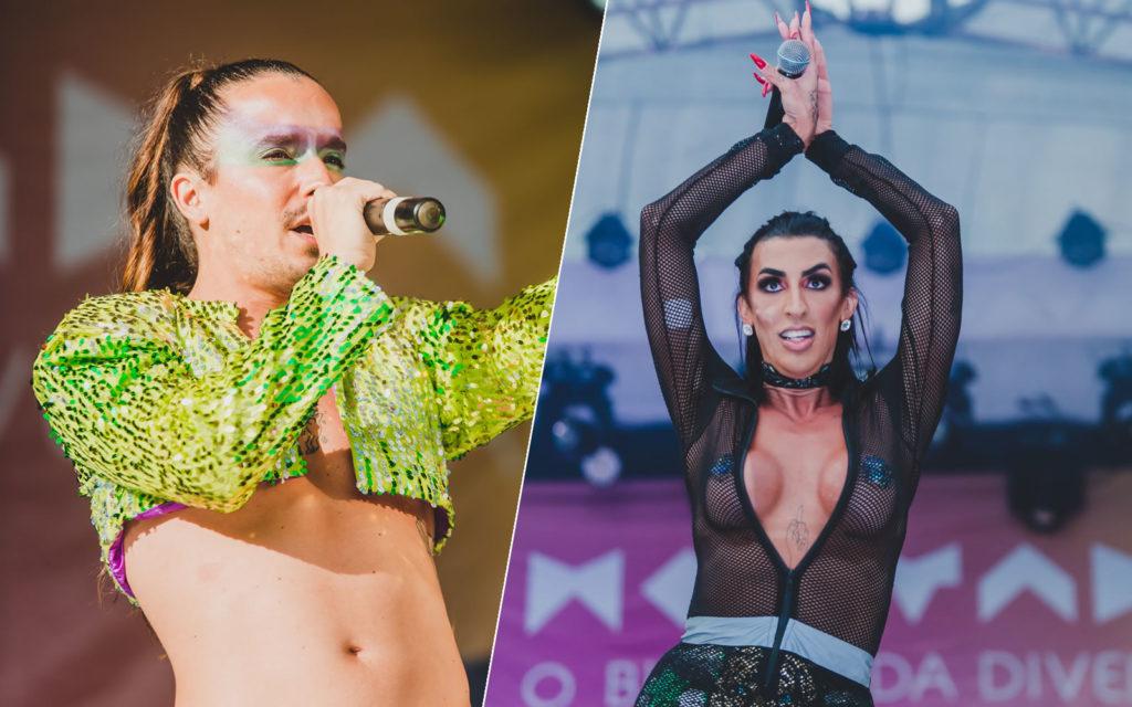 O Bloco das Montadas trouxe atrações nacionais como o Candy Bloco e a Mulher Pepita. (Foto: Divulgação/Bruno Cavalcanti)