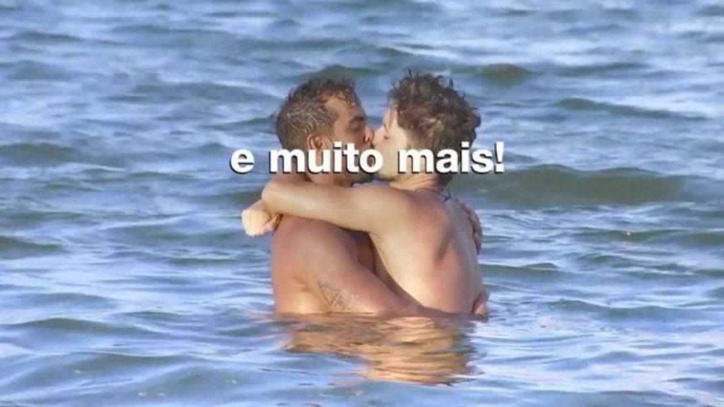 Rafael Vieira no De Férias com o Ex Brasil. (Foto: Reprodução)