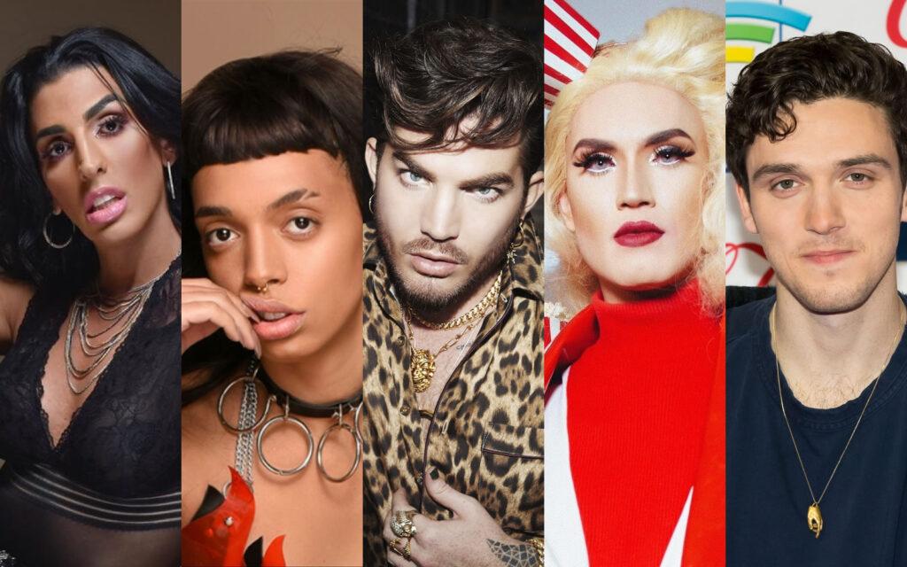 Pepita, Urias, Adam Lambert, Aretuza Lovi e Lauv montam playlists exclusivas para Deezer. (Foto: Divulgação)