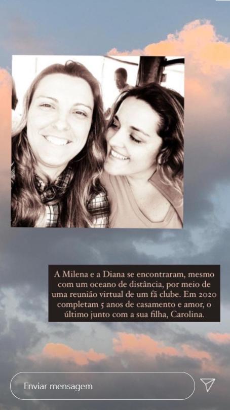 Ana Carolina publica histórias de amor no Dia Nacional da Visibilidade Lésbica. (Foto: Reprodução/Instagram)