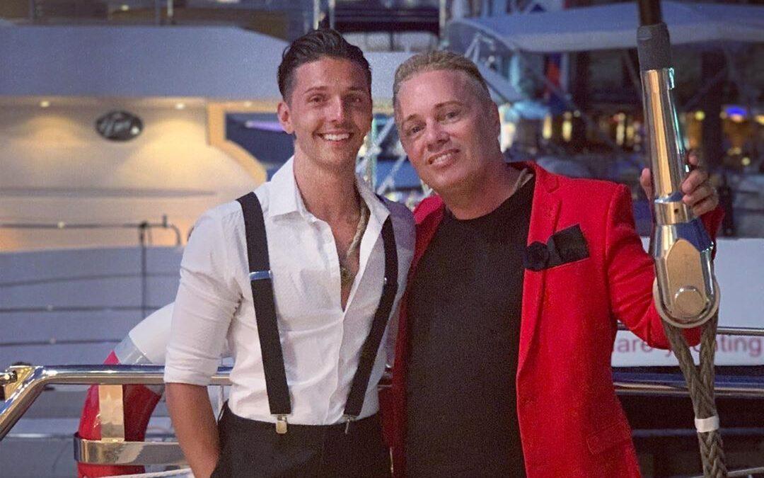Barrie Drewitt-Barlow e Scott Hutchinson. (Foto: Reprodução/Instagram)