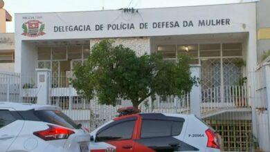 Delegacia de Defesa da Mulher de Tatuí, SP. (Foto: Reprodução/TV TEM)