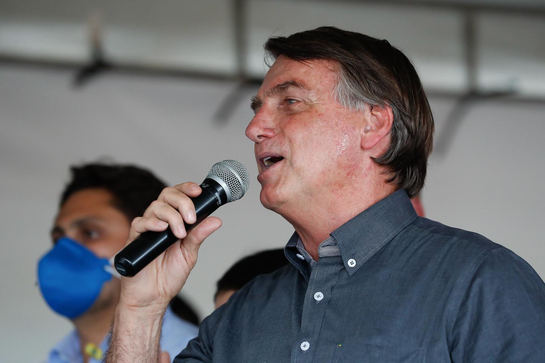 O presidente do Brasil, Jair Bolsonaro (sem partido), em visita ao Maranhão. (Foto: Alan Santos/PR)