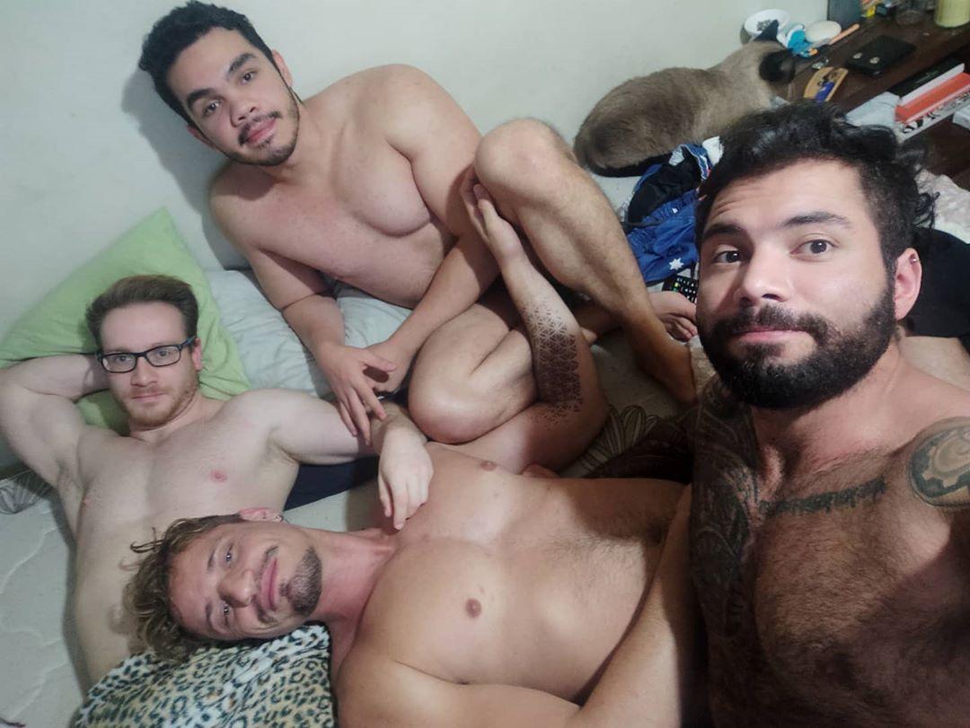 O quadrisal formado por Léo, Rafa, Samuel e Sérgio. (Foto: Reprodução/Instagram)
