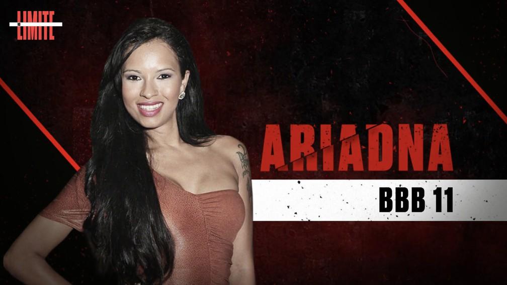 Ariadna é uma das participantes do 'No Limite'. (Foto: Divulgação/Globo)
