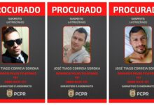 Polícia Civil divulgou cartazes com foto do suspeito. (Foto: Polícia Civil)