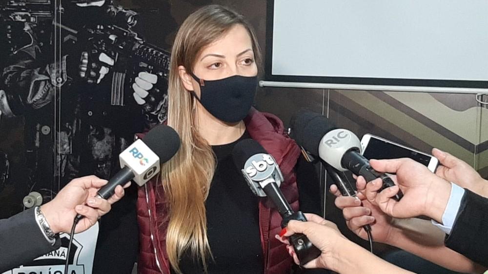 Delegada alertou que o suspeito é um assassino em série. (Foto: Reprodução/TV Globo)