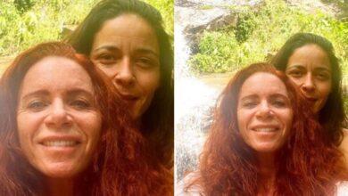 Leilane Neubarth e sua namorada, Gaia Maria. (Foto: Reprodução/Instagram)