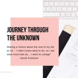 Disruptor Journey through the unknown