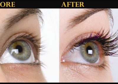 Before and After Lash Extensions, Gypsy Lash, Newburyport MA