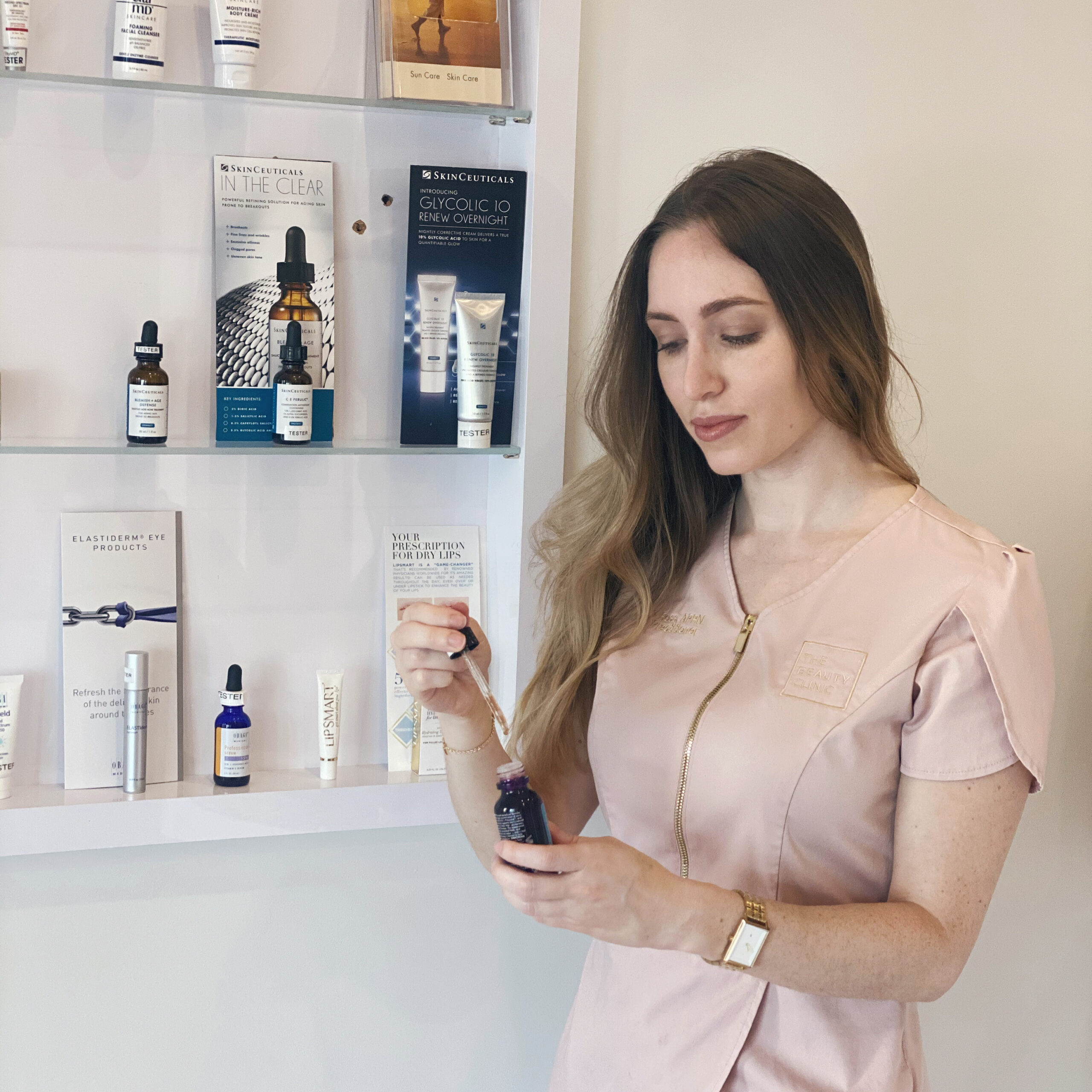 THE BEAUTY CLINIC Serum Tips