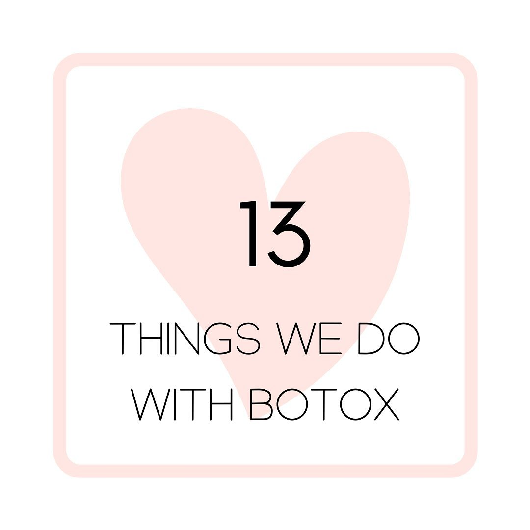 The Beauty Clinic When most people think of Botox, they think of treating the forehead. Here are 13 areas we routinely treat with Botox (and Dysport):
