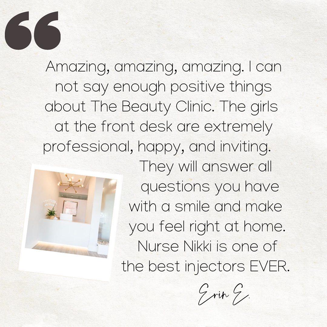 The Beauty Clinic Testimonial