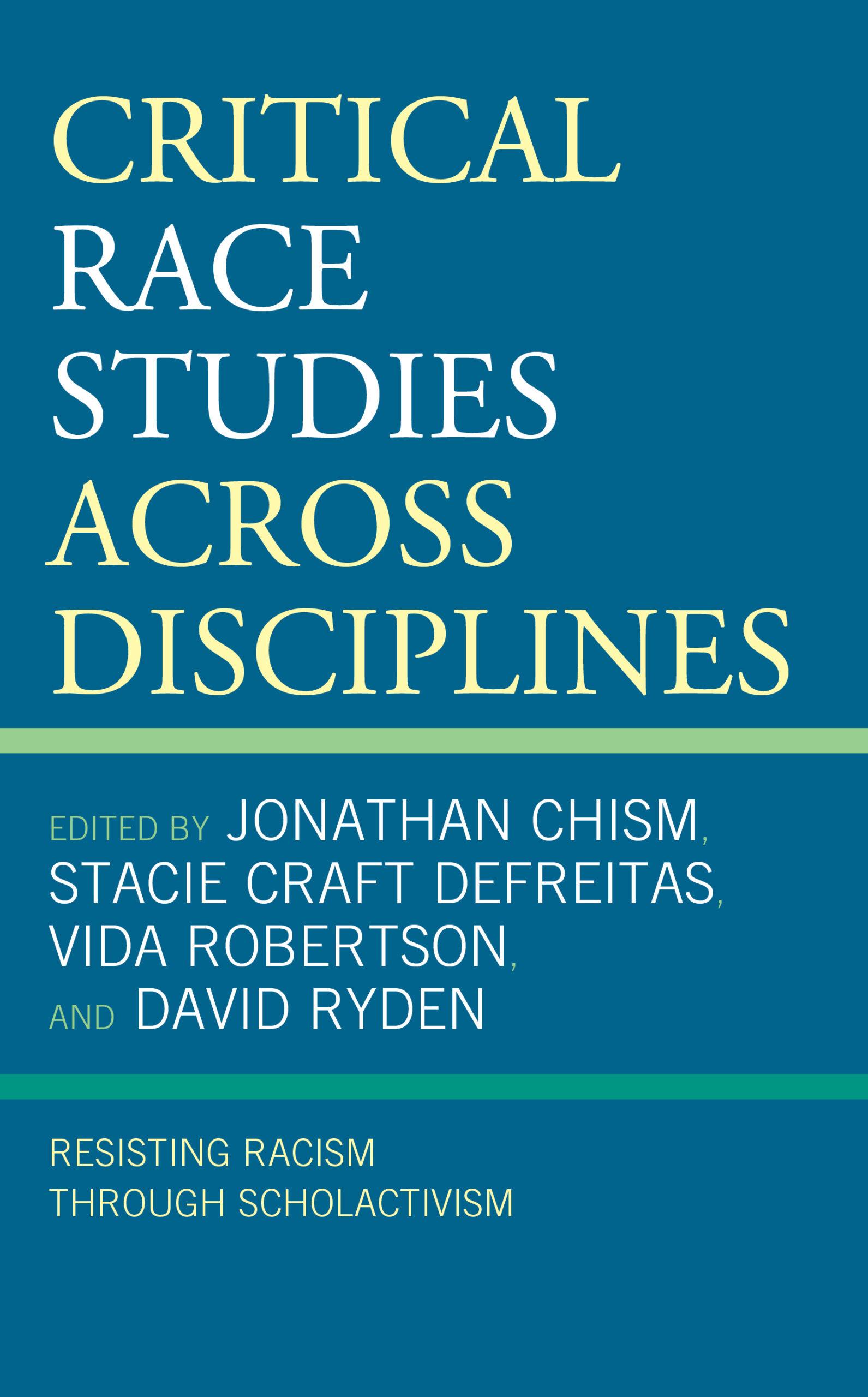 Critical Race Studies Across Disciplines Cover