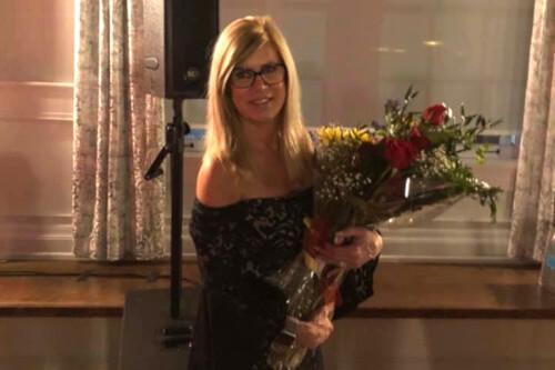 Donna accepting 2020 President Buffalo Niagara Association of Realtors