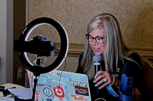 Donna working as 2020 President Buffalo Niagara Association of Realtors
