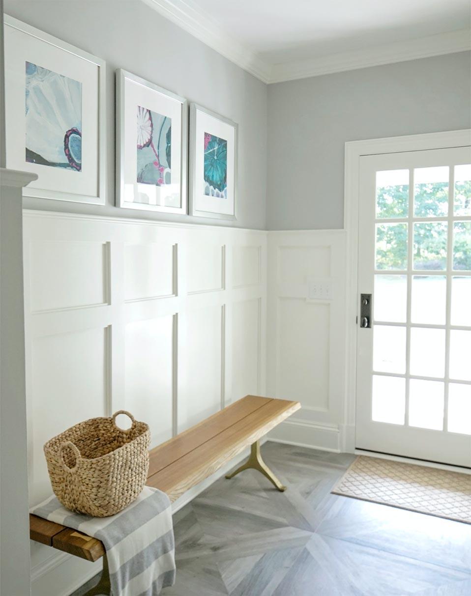 mudroom interior design Ridgefield, Connecticut