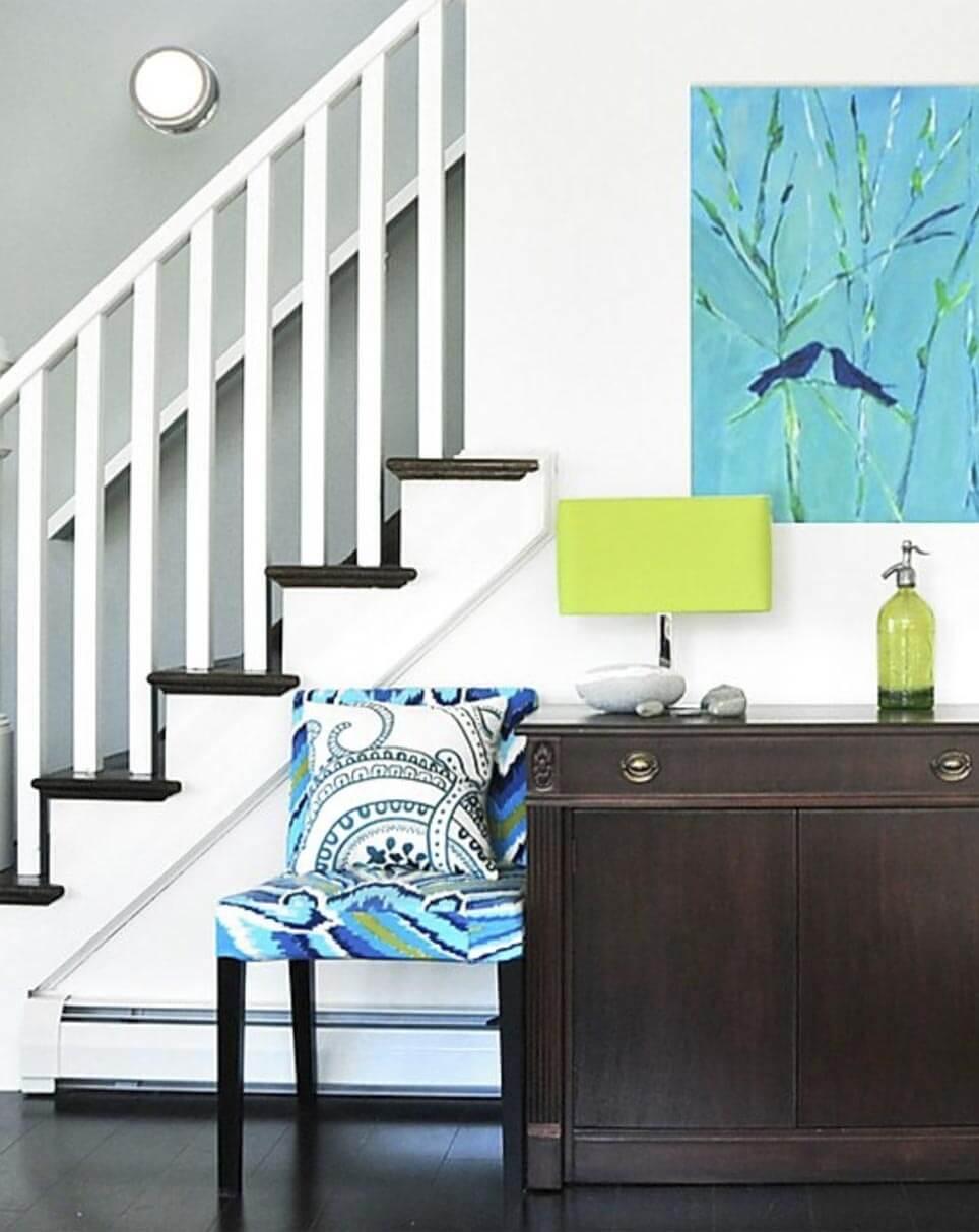 foyer interior design Ridgefield, Connecticut