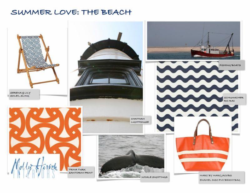 interior design beach accessories