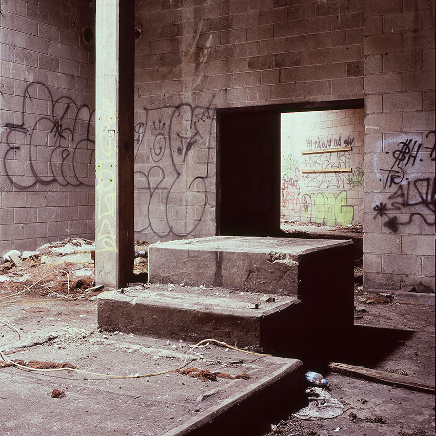 abandoned building photography