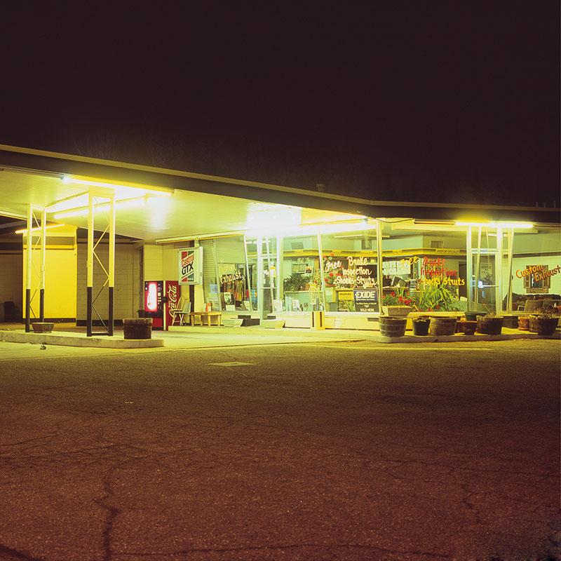 analog night photography