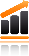High Capacity Icon for Business Internet