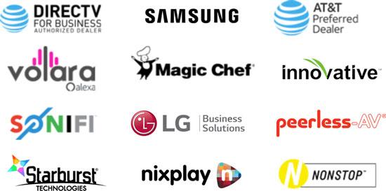 AdcommTV Partner Logos