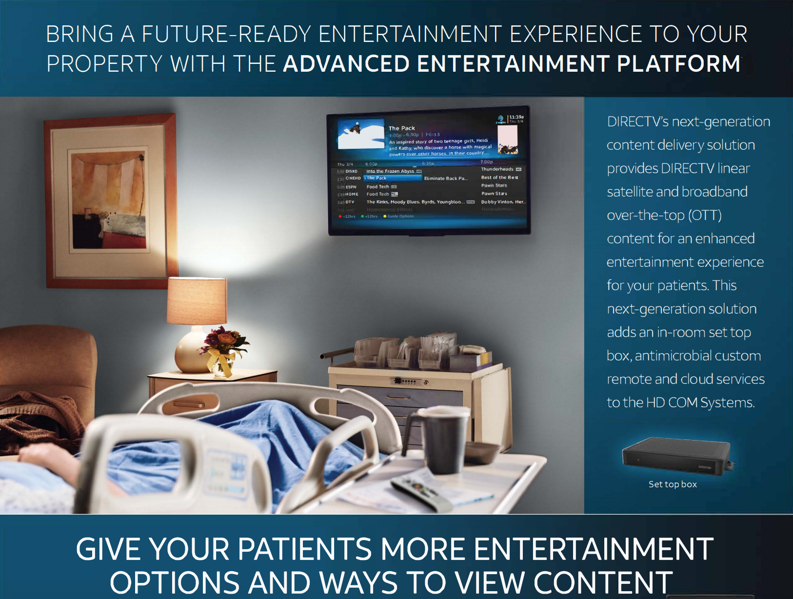 Bring a Future-Ready Entertainment Experience to Your Property with the Advanced Entertainment Platform