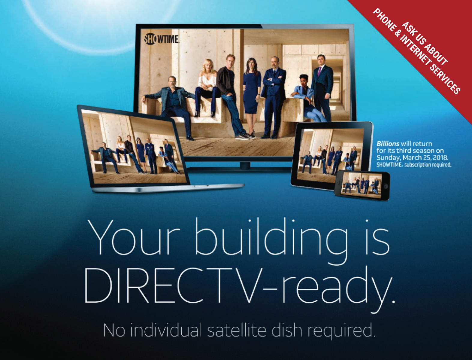 Your building is DIRECTV-ready