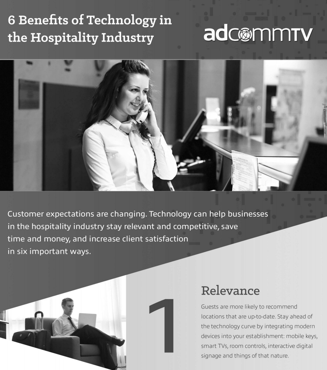 6 Benefits of Technology in the Hospitality Industry