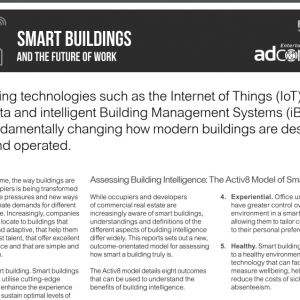 Smart Building and the Future of Work PDF