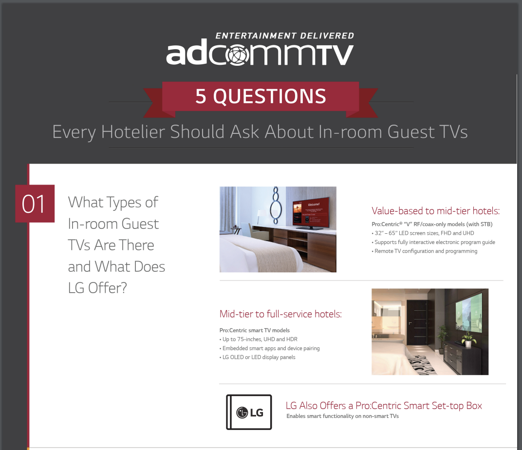 Every Hotelier Should Ask About In-room Guest TVs PDF