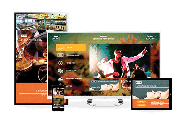 AdcommTV Commercial TVs on all types of devices