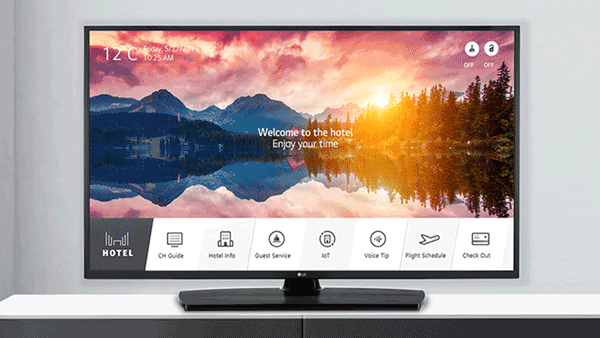 Samsung Commercial Display TV