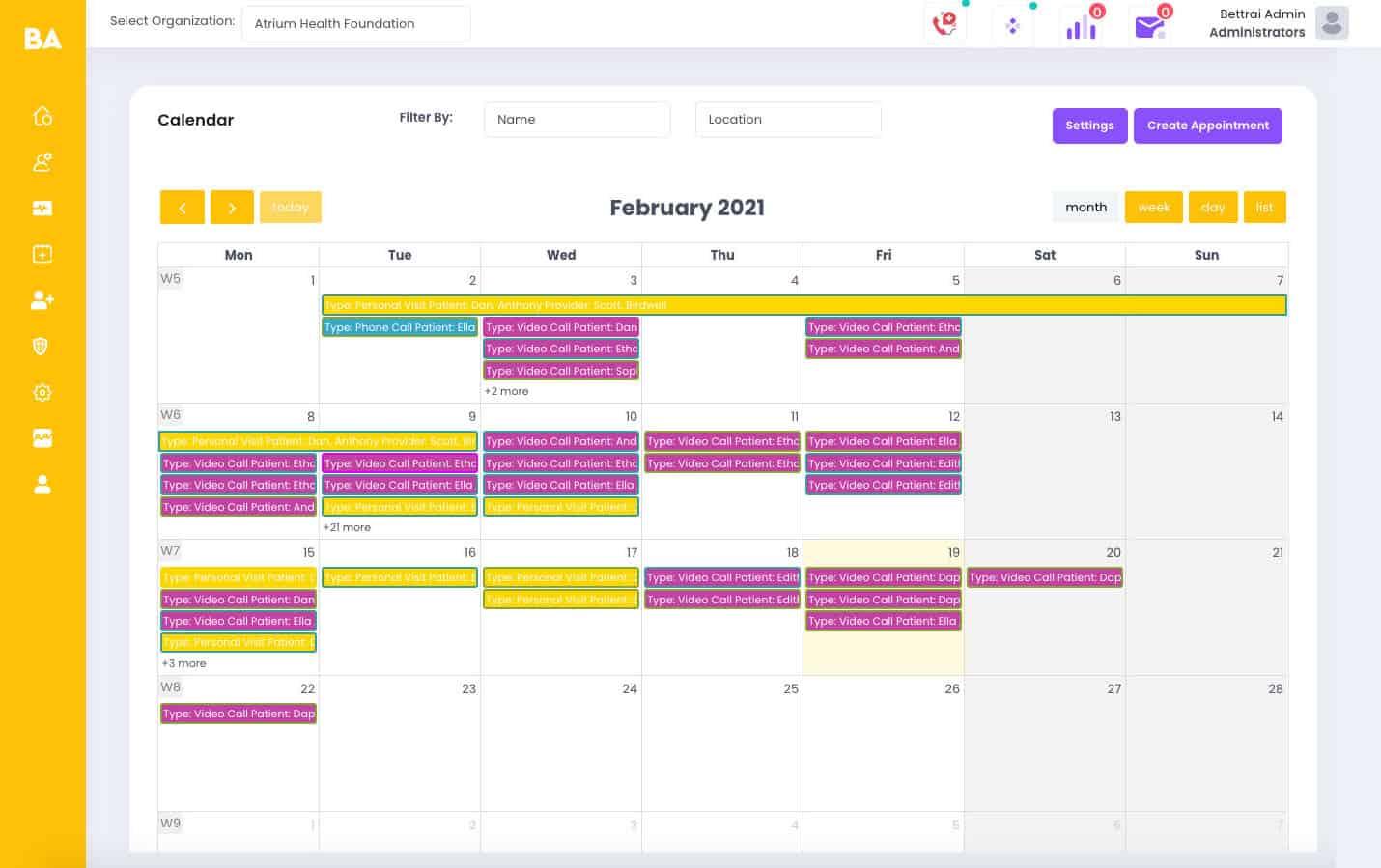 Healthcare Schedular