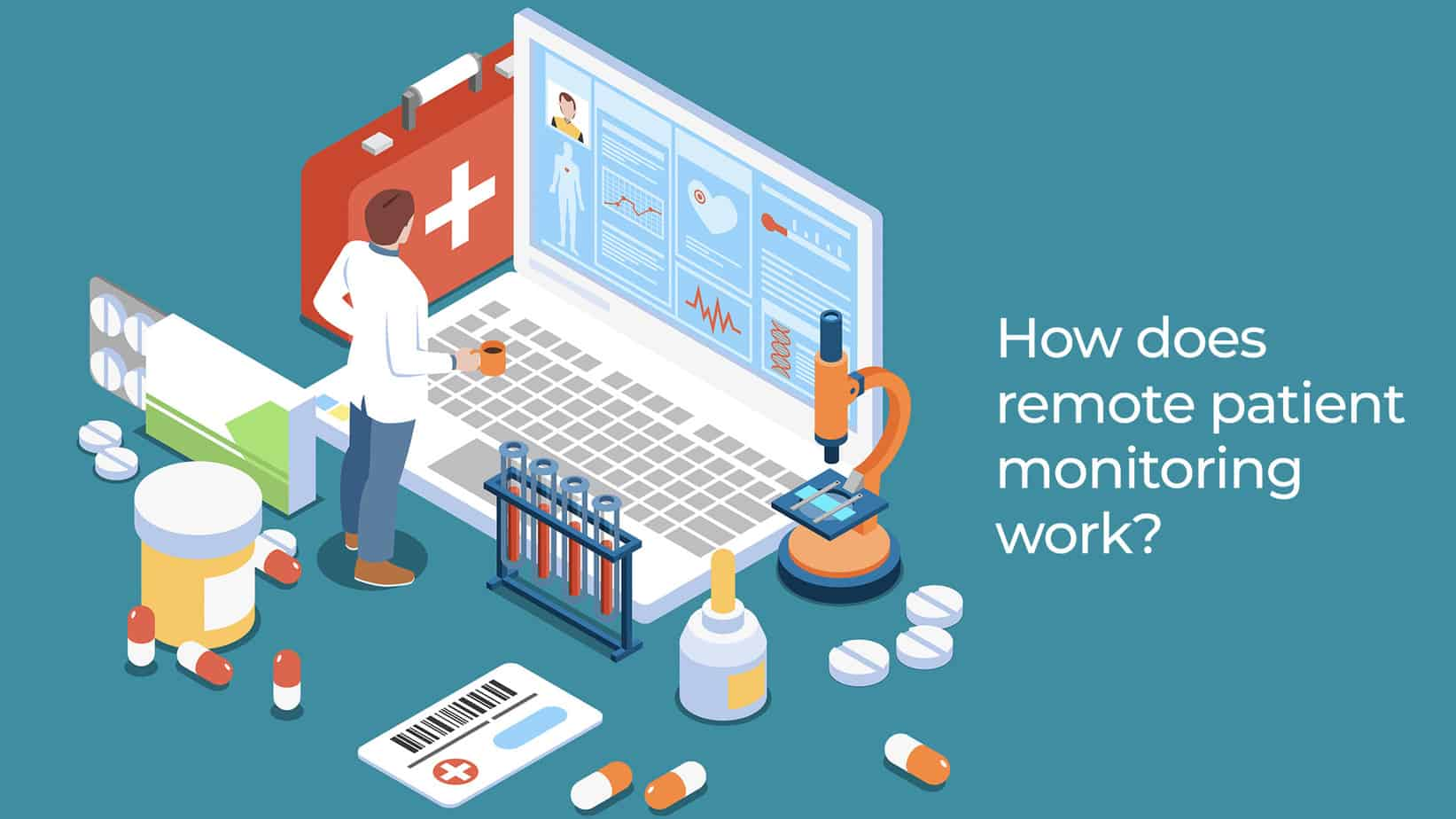 How does remote patient monitoring work