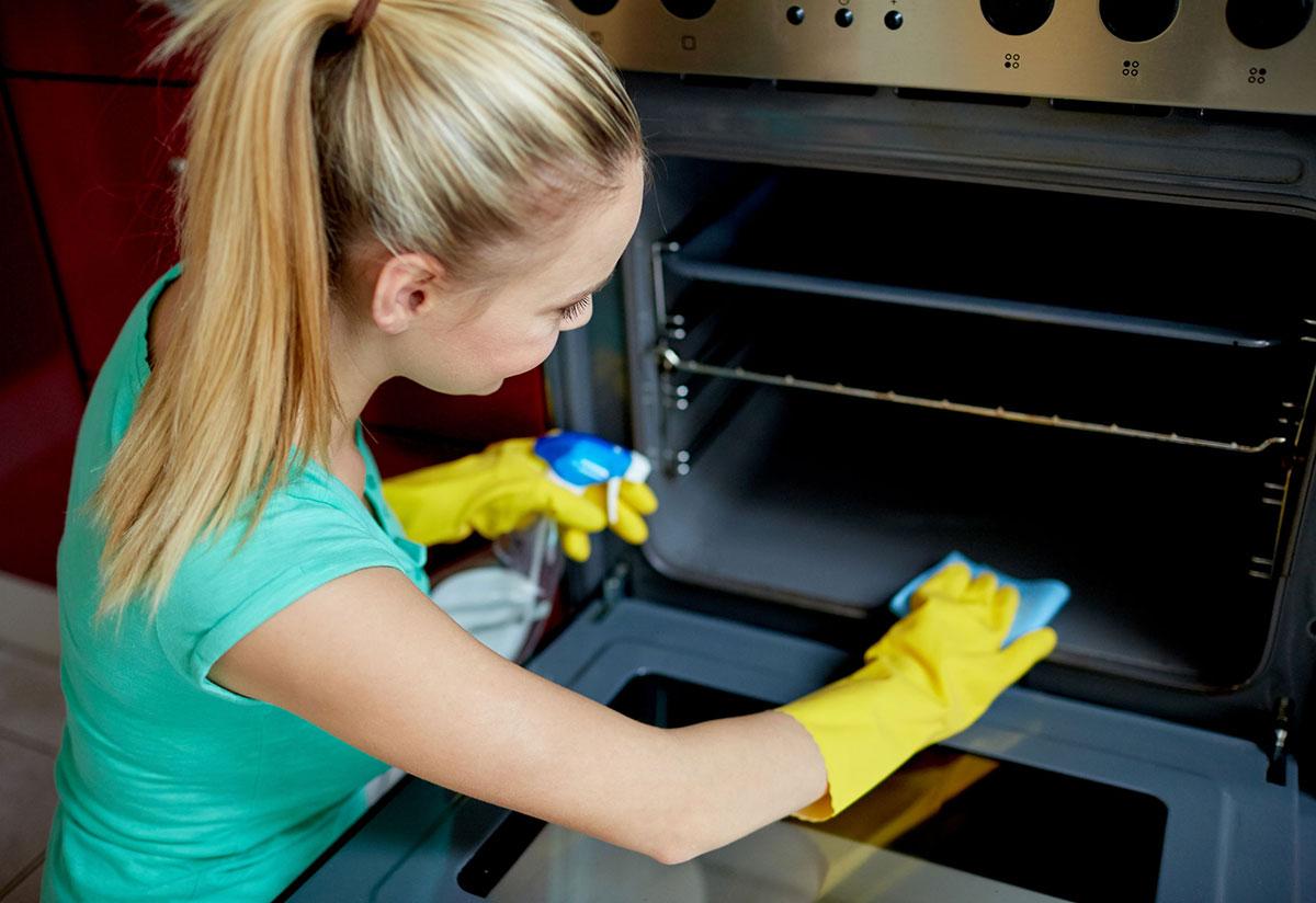 Clean Interior Appliances