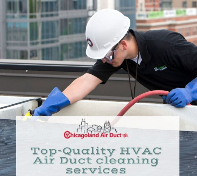 Top- Quality Air Duct Cleaning Services