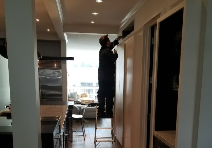 Commercial air duct cleaning in Downser Grove