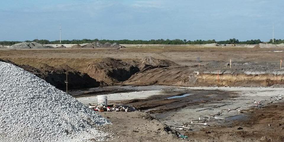Kyle Construction site