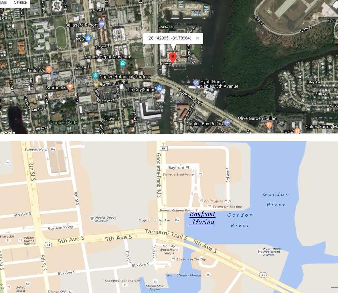 Bayfront Marina Naples, Florida