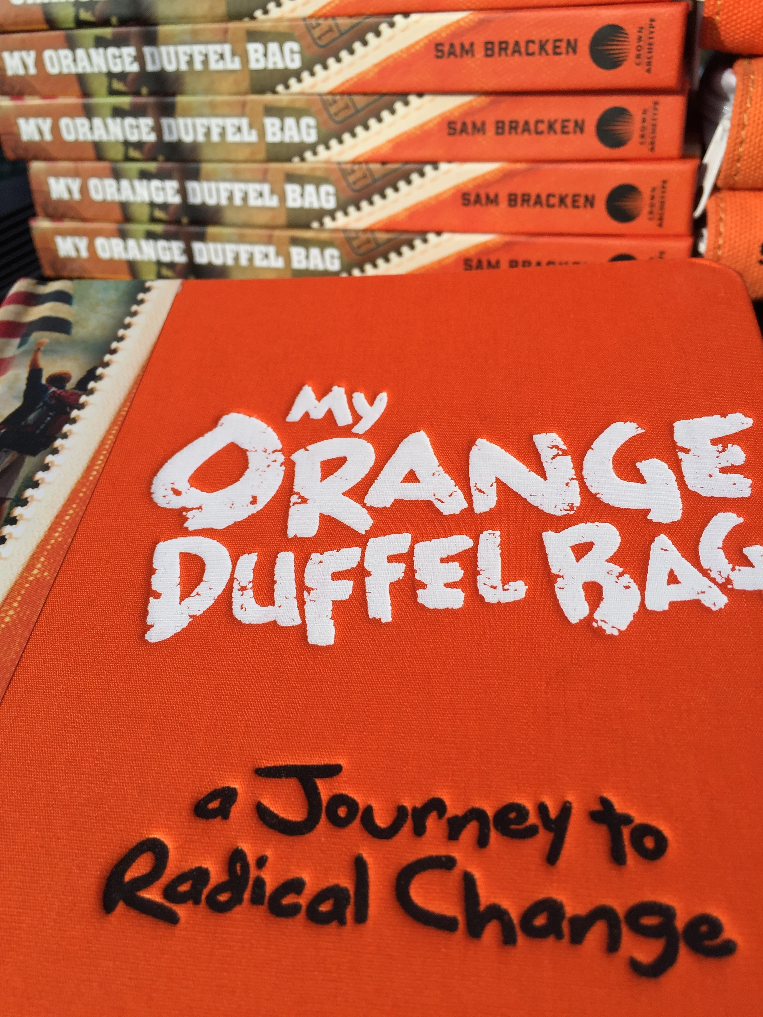 A Stocking Stuffer for Teens & Young Adults My Orange Duffle Bag